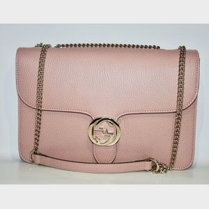 Gucci Interlocking GG Crossbody Chain Shoulder Bag